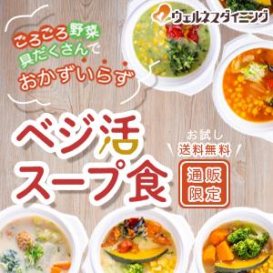 30代からの野菜不足解消の新提案 1食で1日に必要な野菜の半分を摂取「ベジ活スープ食」