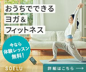 結果をたたき出すオンラインヨガ【SOELUソエル】(1日100レッスン以上)