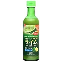 限定のメキシコ産ライム果汁290ml ストレート100%果汁 香料・保存料不使用