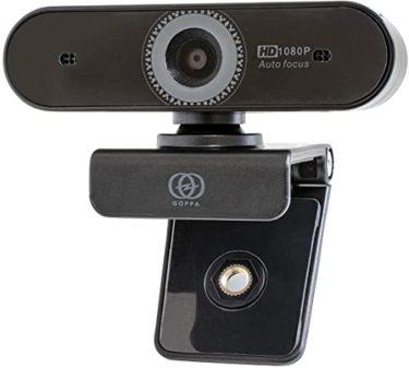 色あせないGOPPA ウェブカメラ オートフォーカス機能搭載 フルHD 200万画素 1920×1080対応 マイク内蔵 GP-UCAM2FA/E