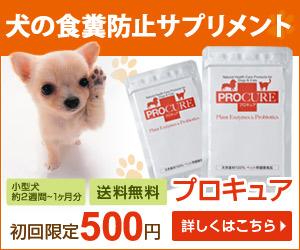 酵素とプロバイオティクスのペット(犬・猫)用サプリメント【プロキュア】虎の巻