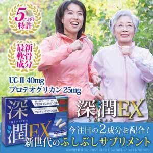 コンドロイチン・グルコサミンを超える特許成分サプリ【深潤EX】 会議